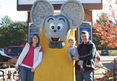 Cheese Mouse Family