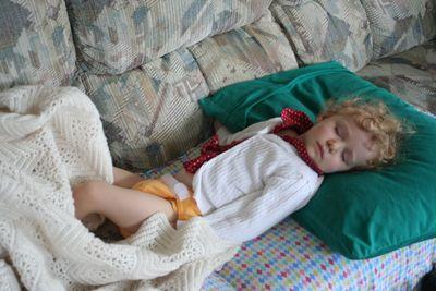 Billa Sleeping