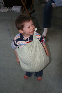 Daniel with Sling