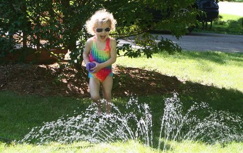 Sprinkler Running