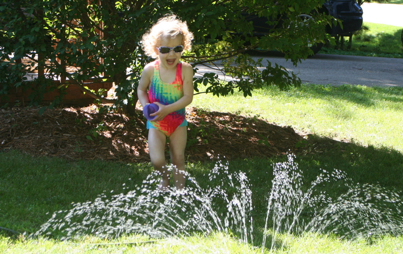 Sprinkler Running