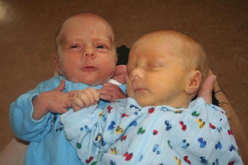 Both Babies at Hospital